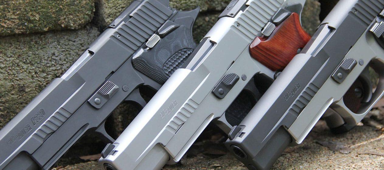 Lipsey's Guns - Sig Sauer P220 10MM Semi-Auto Pistols