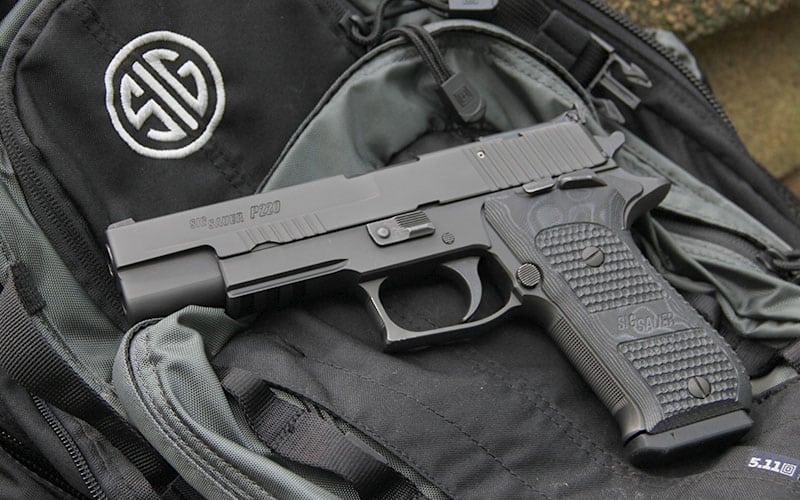 SIG Sauer P220 10mm Black Nitron