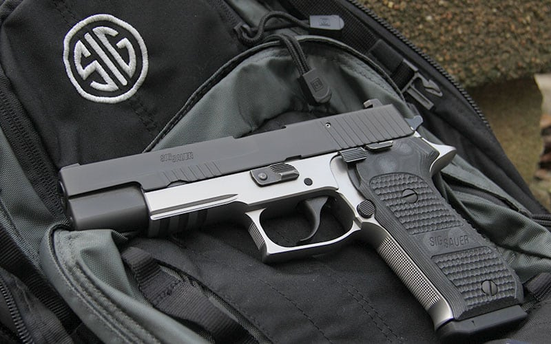 SIG Sauer P220 10mm Two-Tone Tactical