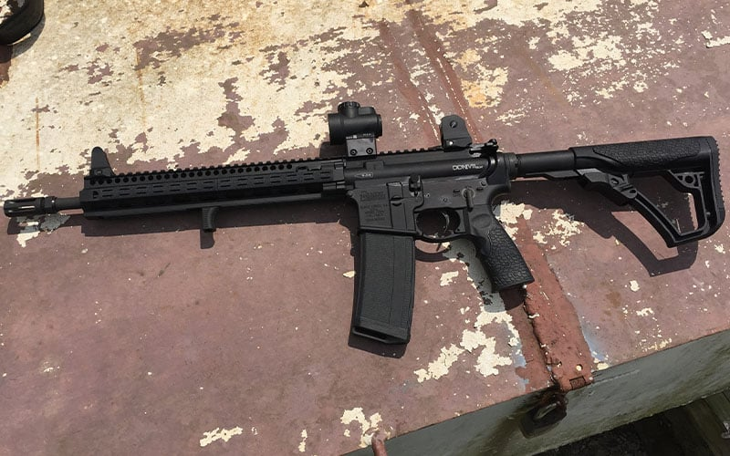 Daniel Defense DDM4 SLW V11 Rust Shot