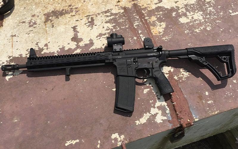 Daniel Defense DDM4 SLW V11 Rust Shot