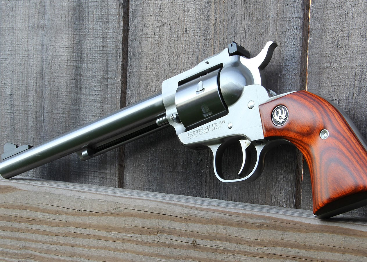 Lipsey's Guns - Stainless Ruger Single Seven 327 Federal Magnum