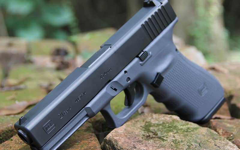 Two-Tone Grey GLOCK Left