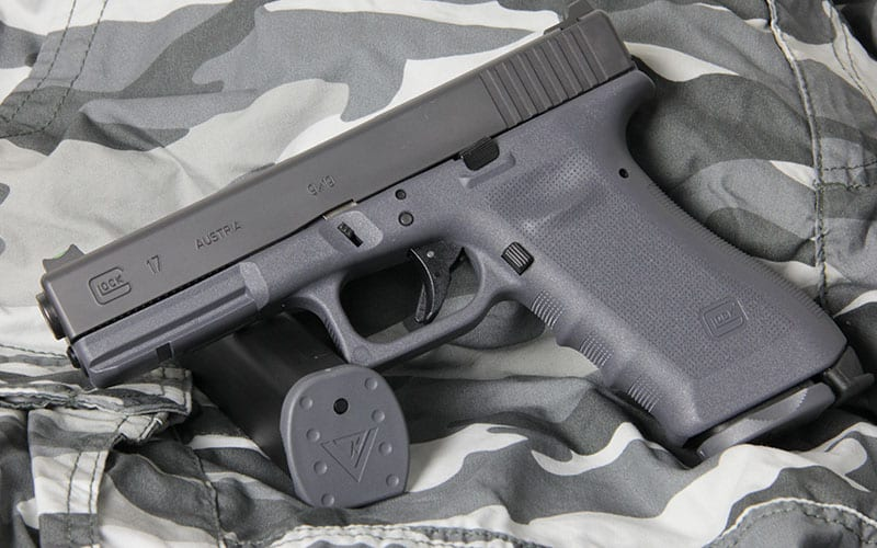 Vickers GLOCK 17 Grey Camo