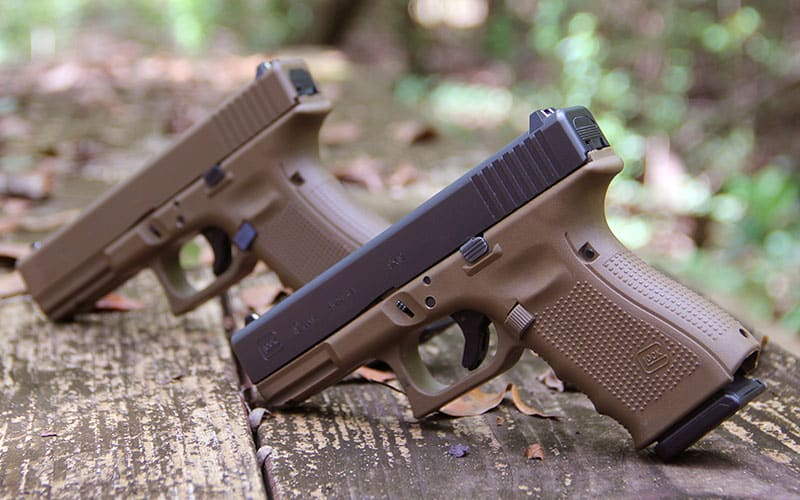 Full And Two-Tone FDE GLOCKs