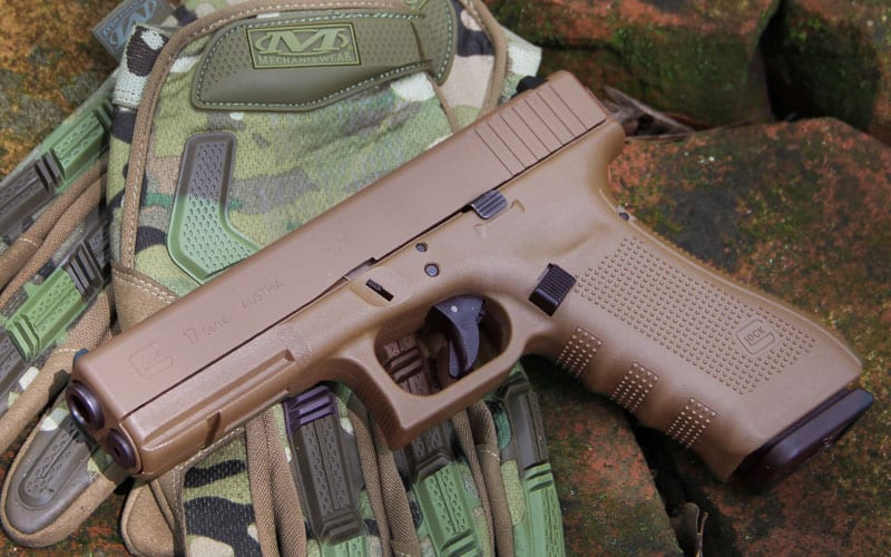Full FDE GLOCK Gloves