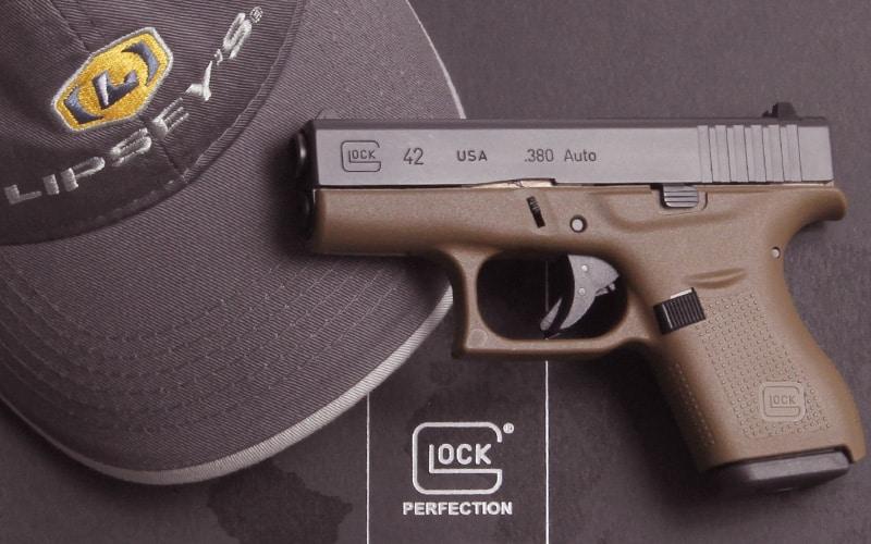 Glock 42 FDE Lipsey Hat