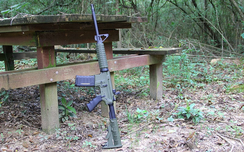 Ruger AR556 Picnic Table