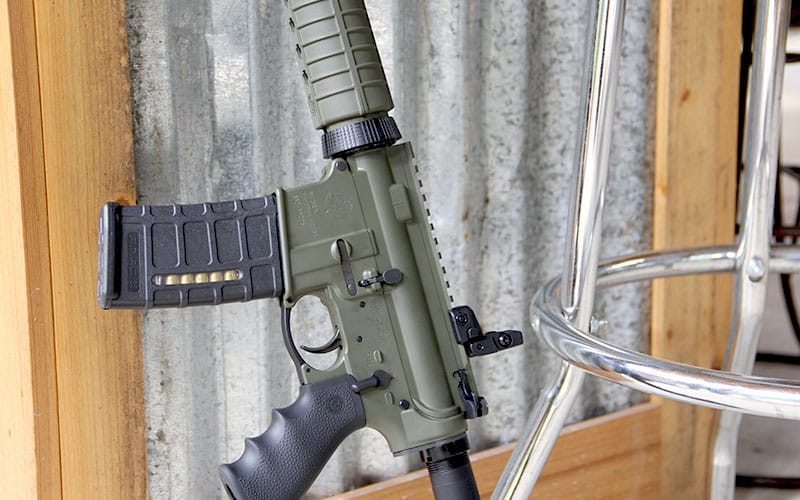 Ruger AR-556 Barstool Upright