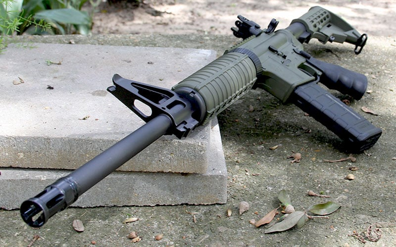 Ruger AR-556 Stone Table