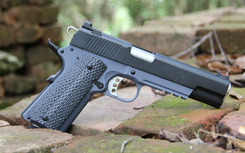 Springfield Operator 1911 Right Face