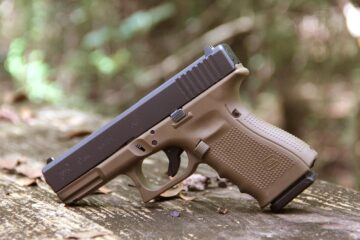 Two-Tone FDE GLOCK Left Featured