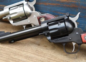Ruger 357 Flattop Stainless And Blue