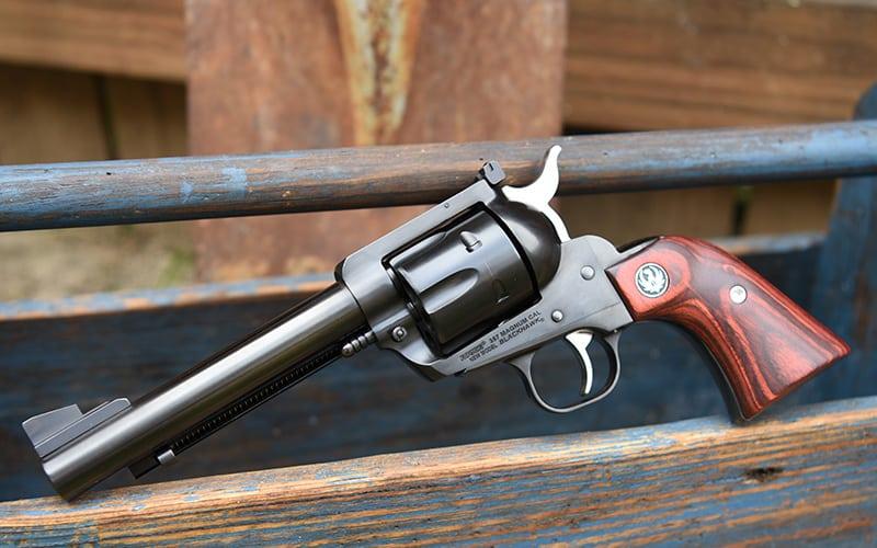 Ruger 357 Flattop Revolver Blue