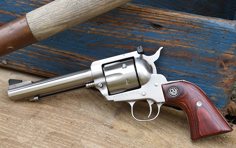 Ruger 357 Flattop Revolver Stainless