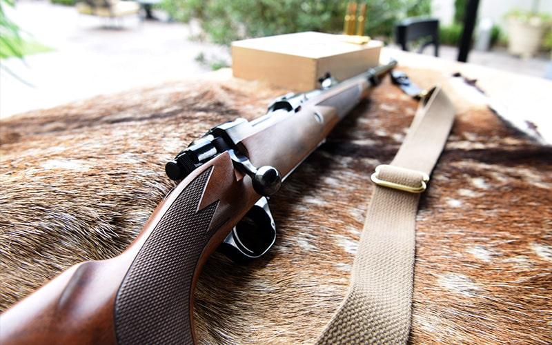 M77 African 275 Rigby Longshot