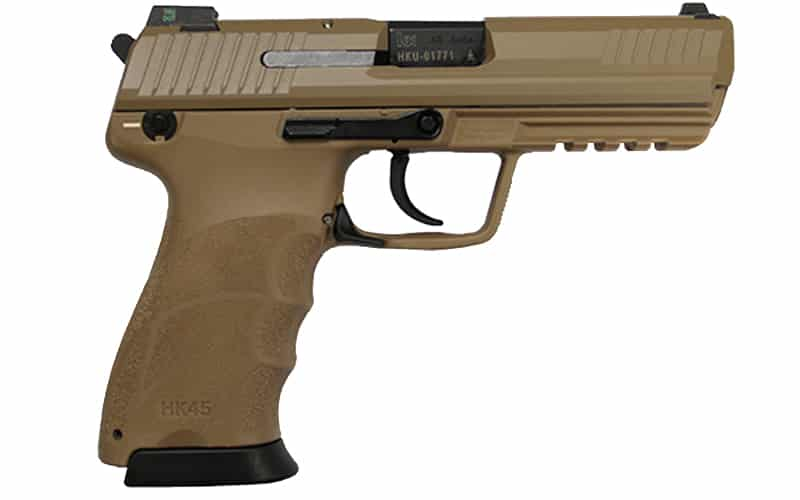 Heckler and Koch HK45 Full Flat Dark Earth
