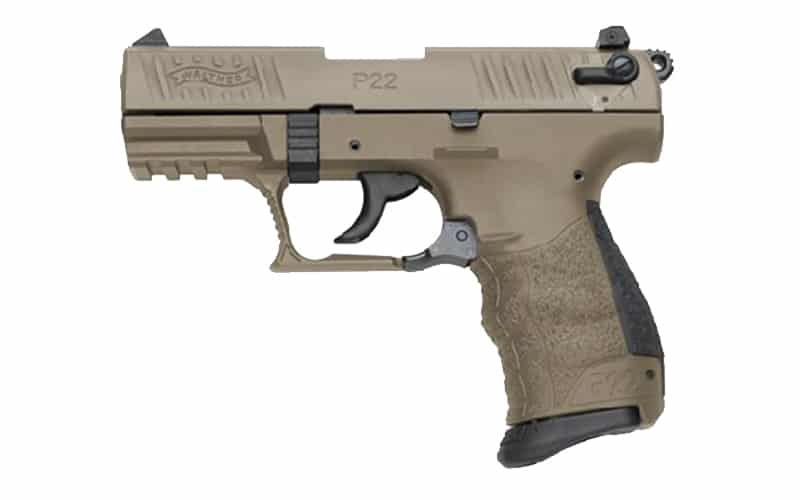 WALTHER ARMS P22Q FDE
