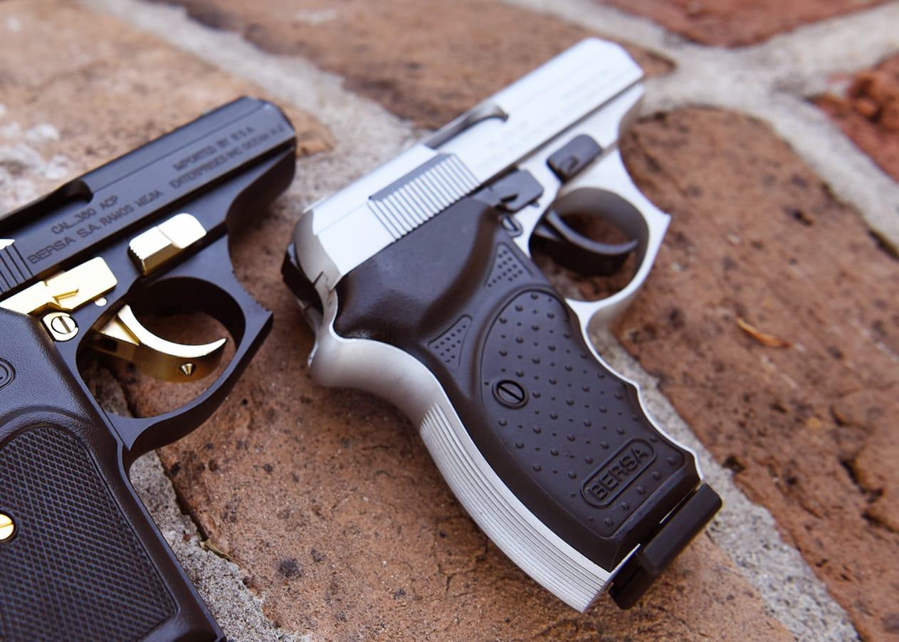 Lipsey's Guns - Nickel Bersa Thunder 380 Lipsey's Exclusive