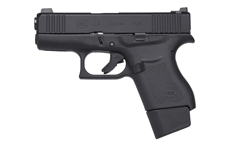 Vickers GLOCK 43 Left