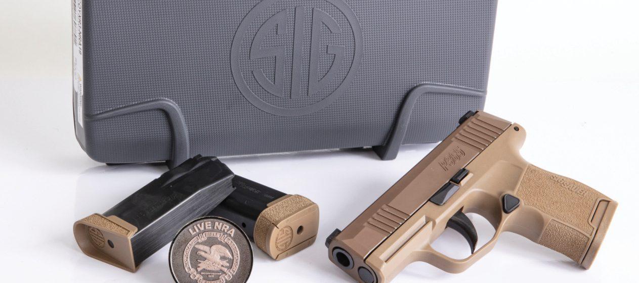 Sig Sauer NRA P365 Pistol