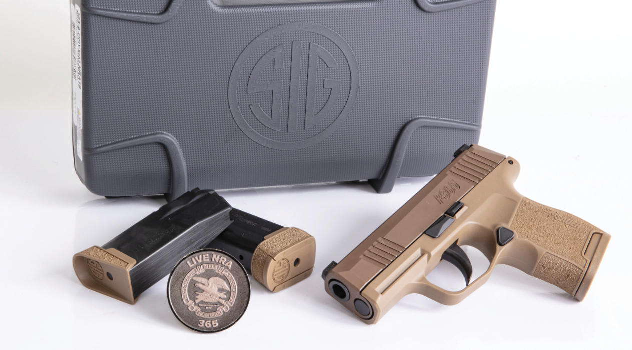 SIG SAUER and Lipsey's Join Forces with NRA P365 to Support